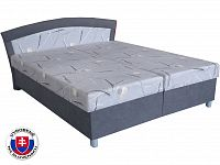 Manželská postel 180 cm Brigita (se 7-zónovou matrací lux)