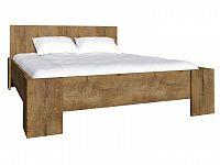 Manželská postel 180 cm Montana L2 (s roštem)