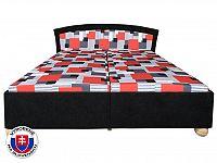Manželská postel 180 cm Roma Lux (se 7-zónovou matrací standart)
