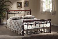 Manželská postel 180 cm Venecja (s roštem)