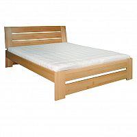 Manželská postel 200 cm LK 192 (buk) (masiv)