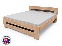 Manželská postel 220x180 cm Salma (masiv)