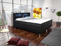 Manželská postel Boxspring 140 cm