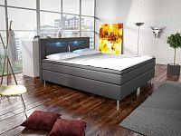 Manželská postel Boxspring 160 cm