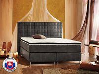 Manželská postel Boxspring 180 cm Lux (s matracemi)