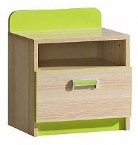 Noční stolek L12 (zelená)