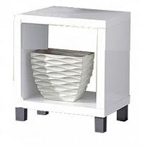 Noční stolek Tofi New 1 CB 101 bílá
