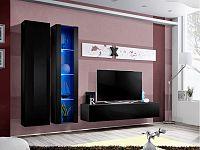 Obývací stěna AIR A 25 ZZ AI A4 (s osvětlením)