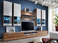Obývací stěna Dorade 20 NW DO (s osvětlením)