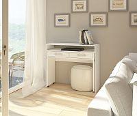 PC stolek Zoom bílá