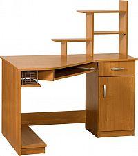 Rohový PC stolek Carmen Max (P)