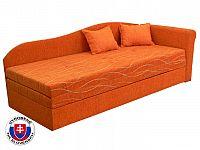Rozkládací postel (válenda) 80 až 160 cm Katka (s molitanovou matrací) (P)