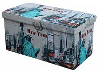 Taburetka Moly XL (vzor new york)