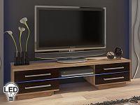 TV stolek/skříňka Laguna (sonoma světlá + tmavá)