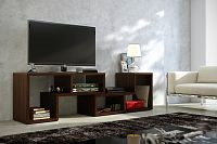 TV stolek Top dub sonoma tmavý