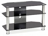 TV stolek TV-031 (černé sklo)