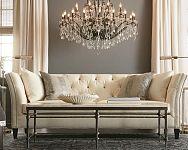 Luxusní křišťálové lustry do obýváku, ložnice i moderní kuchyně