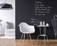 Popisovací tabulová barva na stěnu nejen do dětského pokoje