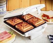 Jak vybrat sendvičovač? Oblíbené jsou 3 v 1 modely či toastovač na 4 toasty