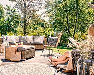 Jaké terasy u domu, chaty, bungalovu? Dřevěné i kryté hliníkové