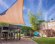 Sluneční plachty na zahradu nebo na terasu – montáž zvládnete i sami