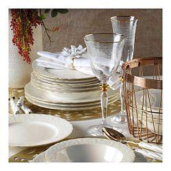 24dílná sada porcelánového nádobí Pure