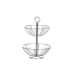 2patrový stojan z kovu Unimasa Baker, výška 41 cm