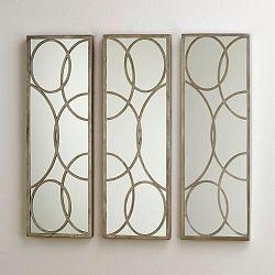 3dílné nástěnné zrcadlo Thai Natura Joes