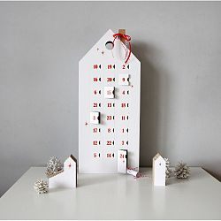 Adventní kalendář s červenými detaily Unlimited Design for kids