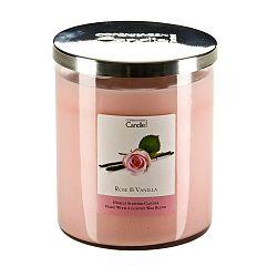 Aroma svíčka s vůní růží a vanilky Copenhagen Candles,doba hoření 70 hodin
