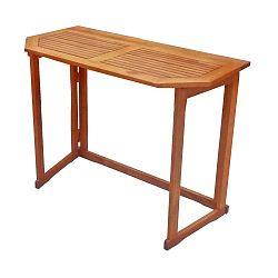 Balkonový stolek z eukalyptového dřeva ADDU Santa Fe