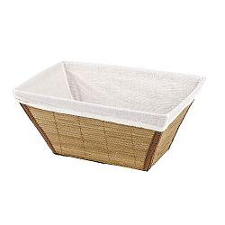 Bambusový košík Wenko Bamboo, šířka31cm