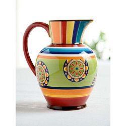 Barevný keramický džbánek Brandani Etno