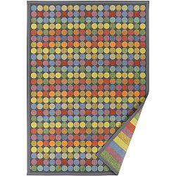 Barevný vzorovaný oboustranný koberec Narma Pallika, 140x200cm