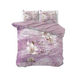Bavlněné povlečení na dvoulůžko Sleeptime Blossom, 240 x 220 cm