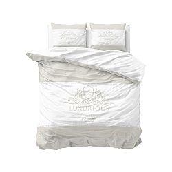 Bavlněné povlečení na dvoulůžko Sleeptime Luxury, 200 x 220 cm