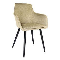 Béžová jídelní židle Evergreen House Elegance Home