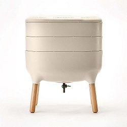 Béžová kompostovací nádoba na bioodpad Plastia Vermikompostér
