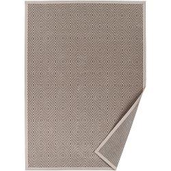 Béžový vzorovaný oboustranný koberec Narma Kalana, 70x140cm