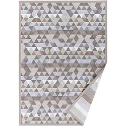 Béžový vzorovaný oboustranný koberec Narma Luke, 70x140cm