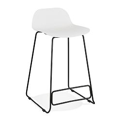 Bílá barová židle Kokoon Slade, výška85cm