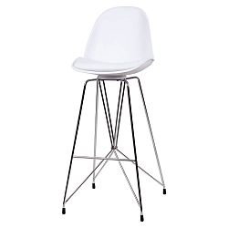 Bílá barová židle sømcasa Brett