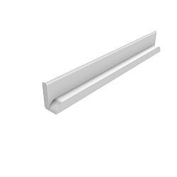 Bílá bezpečnostní lišta Flexa Cabby, délka 33,9 cm