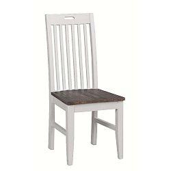 Bílá borovicová jídelní židle Folke Nottingham
