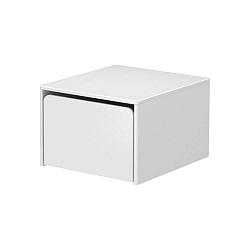 Bílá dětská úložná lavice Flexa Cabby, šířka 51,3 cm