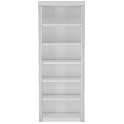 Bílá knihovna z borovicového dřeva Støraa Bailey, 83x213cm
