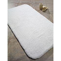 Bílá koupelnová předložka Confetti Bathmats Organic 2400, 50 x 70 cm