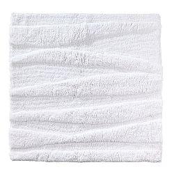 Bílá koupelnová předložka Zone Flow, 65x65cm
