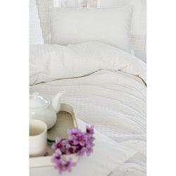 Bílá lehká přikrývka přes postel Pure, 200x240cm