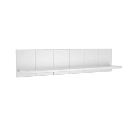 Bílá police do dětského pokoje Pinio Marie, délka 178 cm